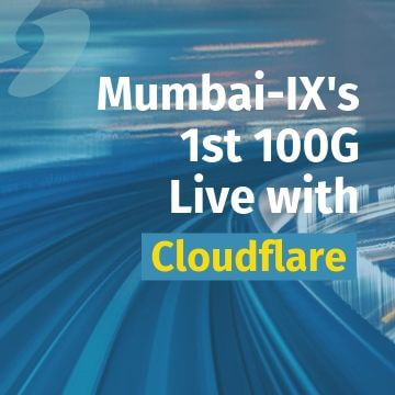 Mumbai IX offers100 Gigabit Ethernet access Cloudflare among first customers