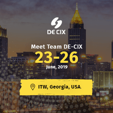 DE-CIX India at ITW USA 2019