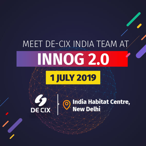 Meet DE-CIX India  @INNOG 2.0 Delhi