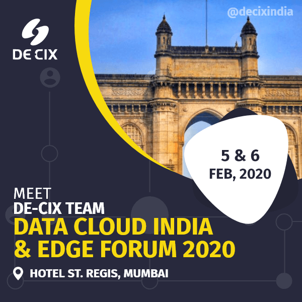 DE-CIX at Data Cloud India 2020