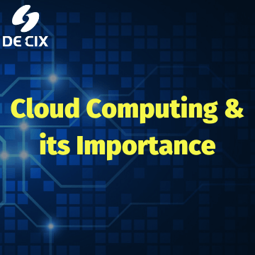 Importance & benefits of cloudcomputing